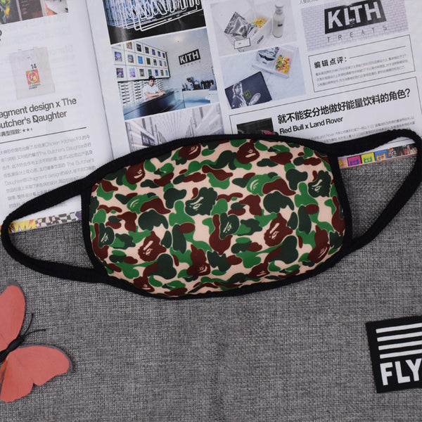 Pizoff CAMO Streetstyle Cotton Comfortable Mask Y1898-42