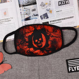Pizoff Skull Print Streetstyle Cotton Comfortable Mask Y1898-44