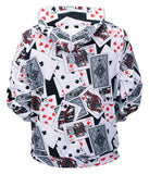 Pizoff Unisex Funny Print Hoodie Coat Long Sleeve With Front Pocket Y1901-06