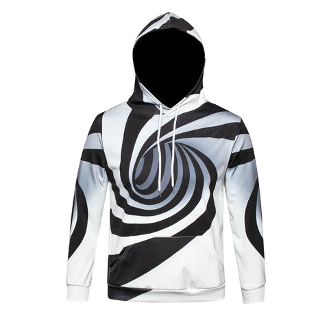 Pizoff Unisex July 3D Digital Print Hoodie With Pockets Y1902-01
