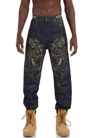 j9163 Mens Jeans Denim