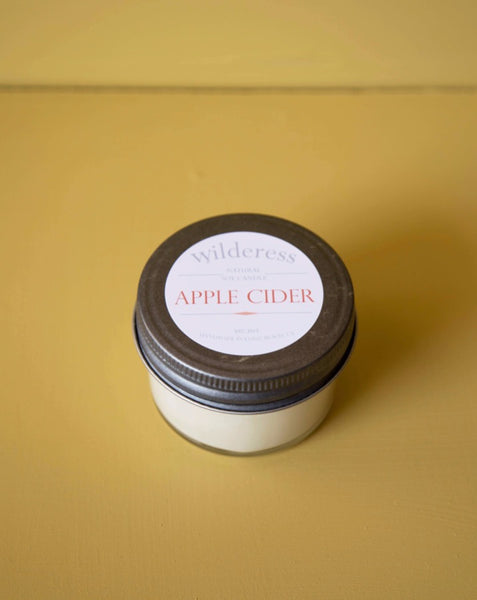 Wilderess - Apple Cider 20 Hour Soy Candle - SISTER LB