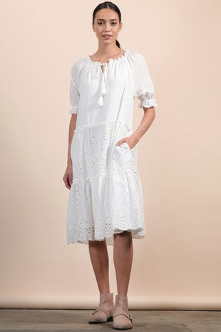 Jane Puff Sleeve Dress