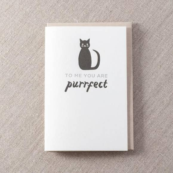 You're Purrrrfect Card - SISTER LB
