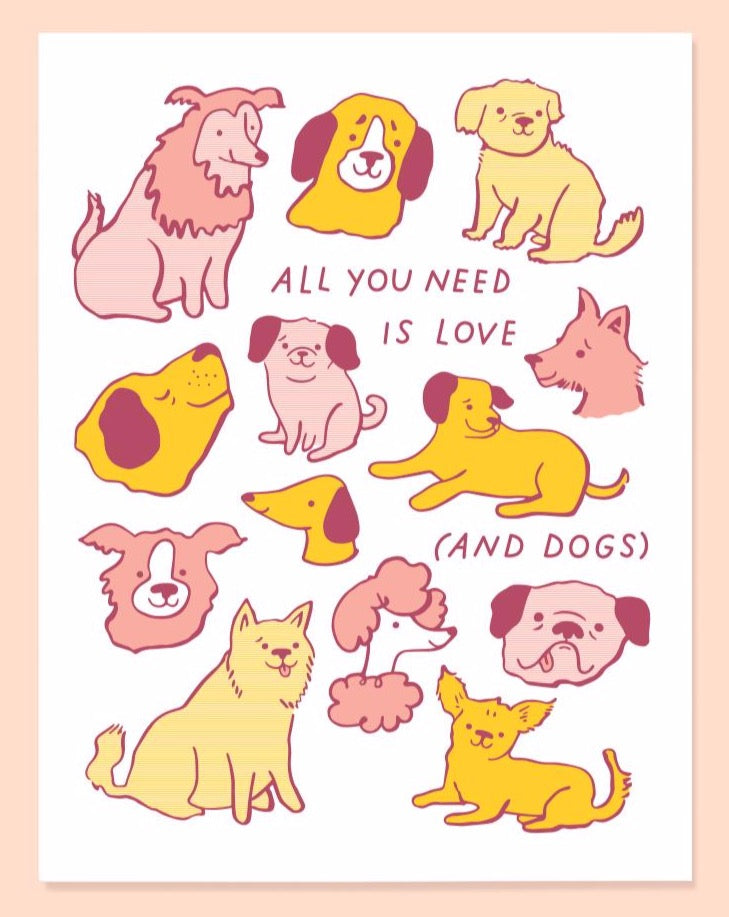 Love and Dogs Card - SISTER LB