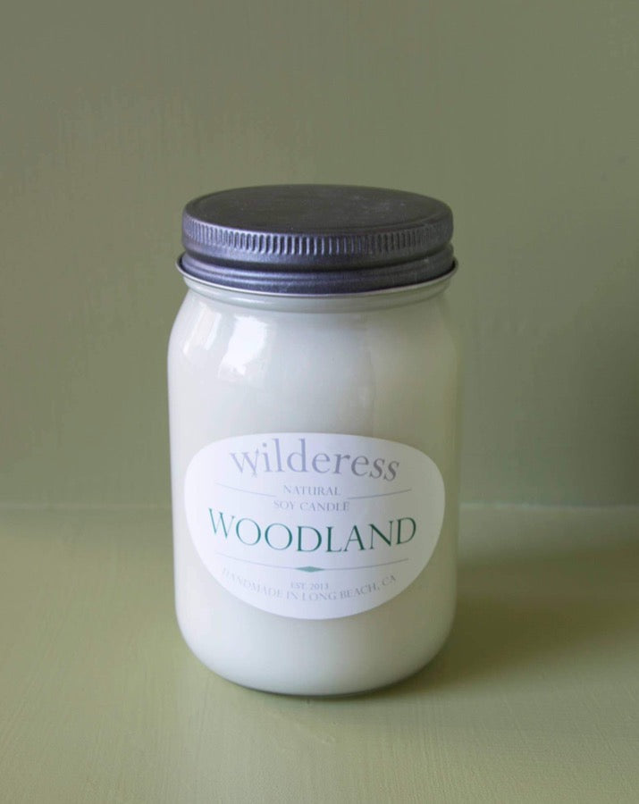 Wilderess - Woodland 90 Hour Soy Candle