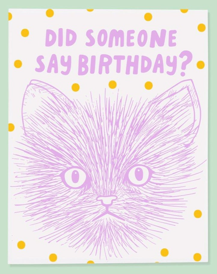 Say Birthday Card - SISTER LB