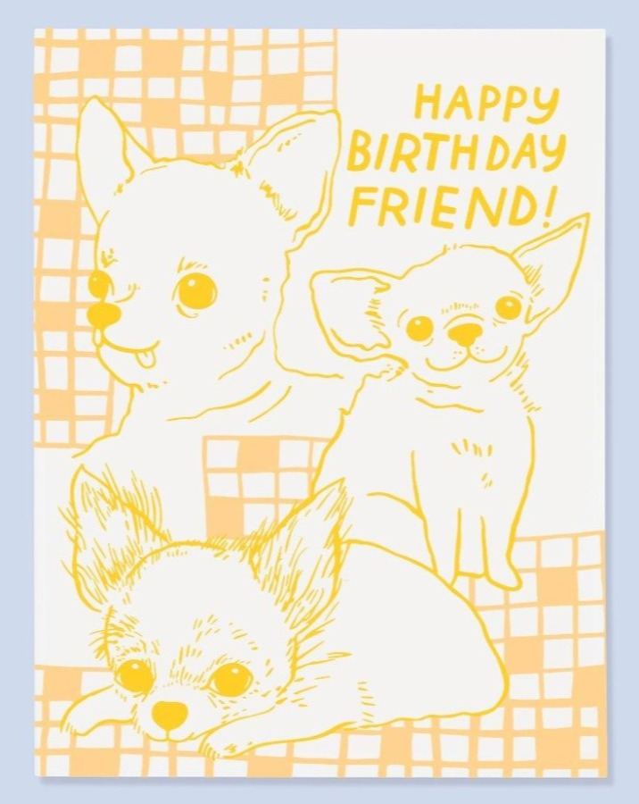 Chi Birthday Card - SISTER LB