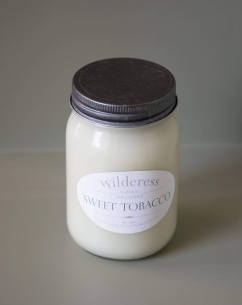 Wilderess - Sweet Tobacco 90 Hour Soy Candle - SISTER LB