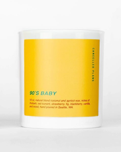 Cancelled Plans - 90's Baby Candle