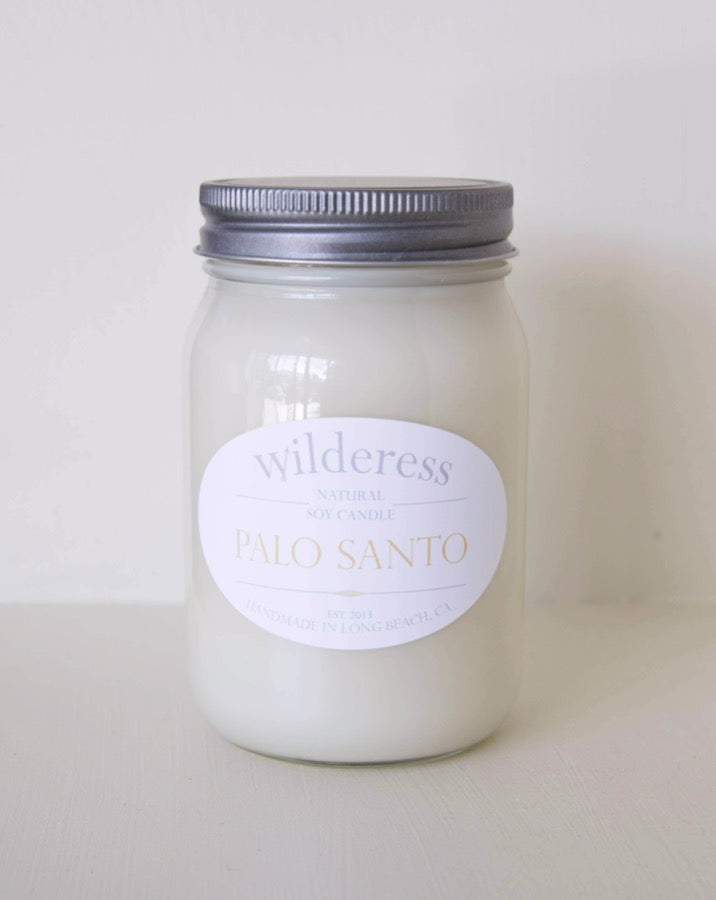 Wilderess - Palo Santo 90 Hour Soy Candle