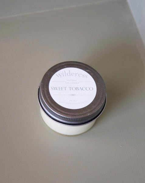 Wilderess - Sweet Tobacco 20 Hour Soy Candle