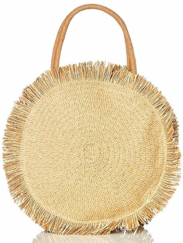 Straw Tatum Bag