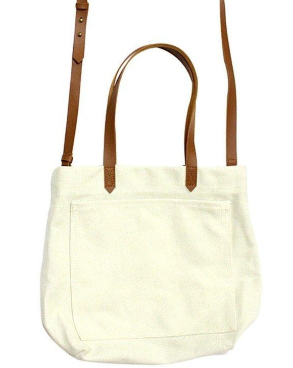 Canvas Pocket Tote - SISTER LB