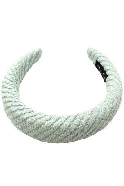 Ribbed Terry Padded Headband - SISTER LB