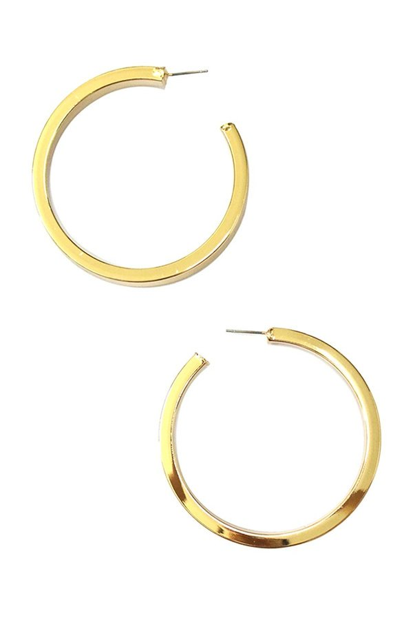 Gold Cicily Hoops - SISTER LB