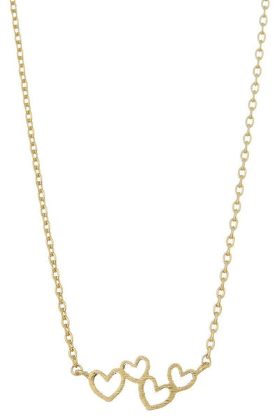 All My Hearts Dainty Necklace