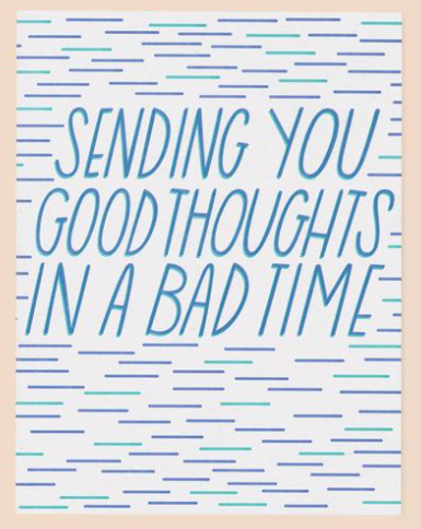 Good Thoughts Card