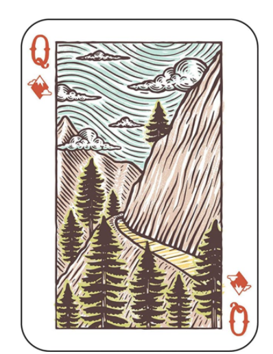 Great Outdoors Playing Cards - SISTER LB