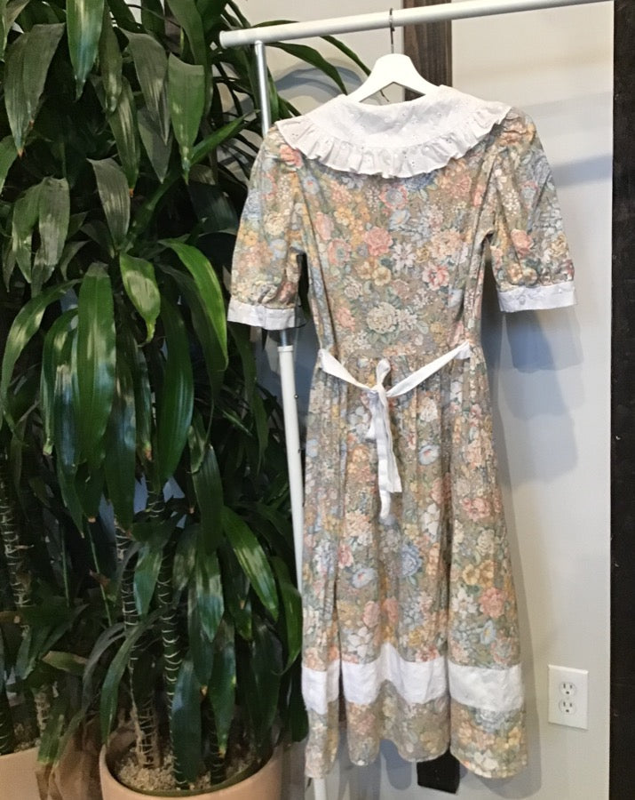 Vintage Little Prairie Dress