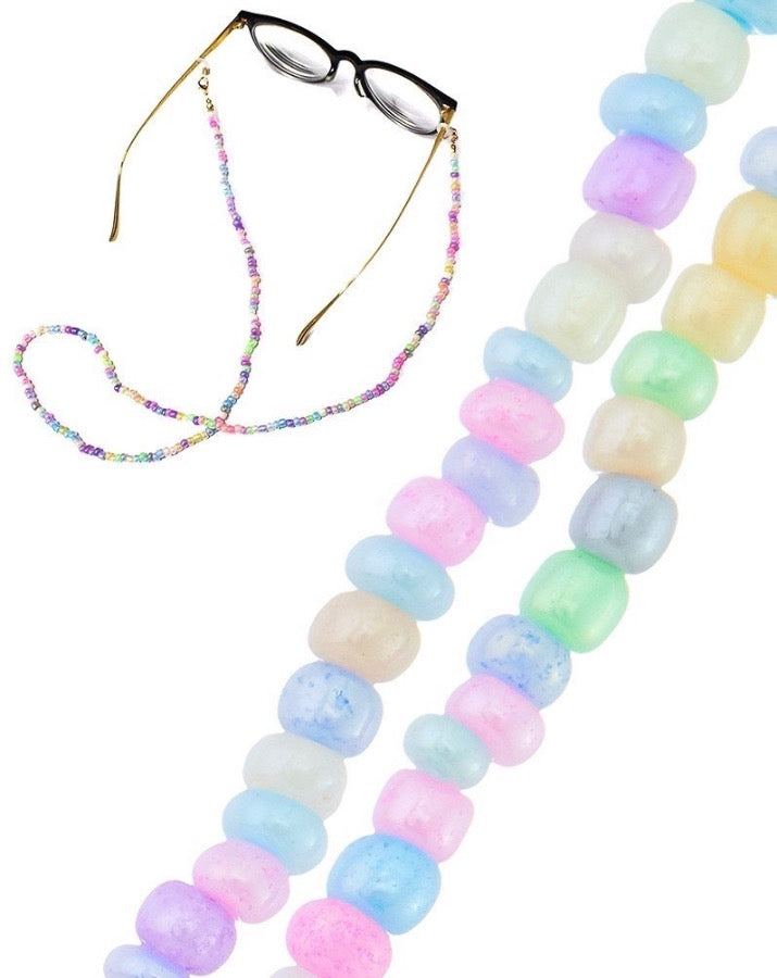 Pastel Pearl Face Mask Chain
