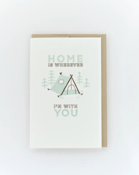 Home is Wherever I'm With You Card - SISTER LB