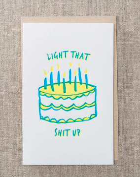 Light That Up Card - SISTER LB