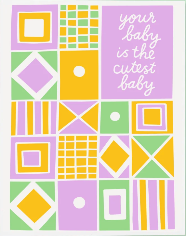 Cutest Baby Card - SISTER LB
