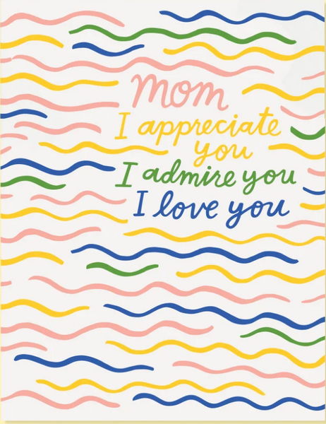 Appreciate Mom Card - SISTER LB