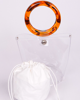 Clear Mini Bucket Bag - SISTER LB