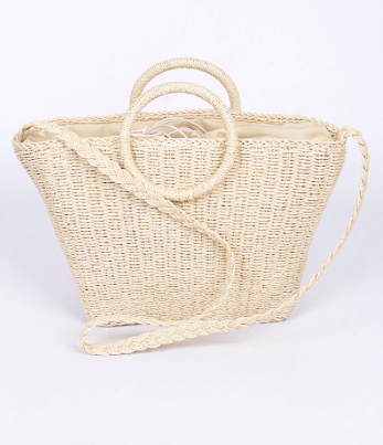Straw Sofia Bag