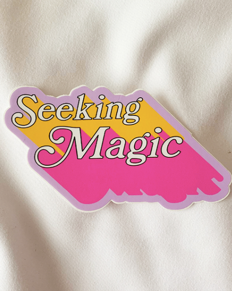 Seeking Magic Sticker