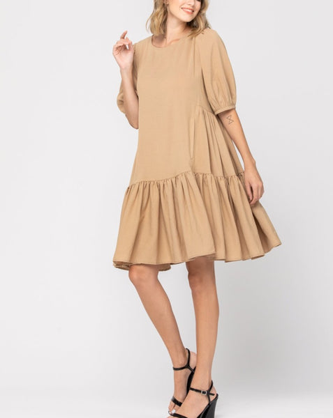 Amelia Puff Sleeve Dress