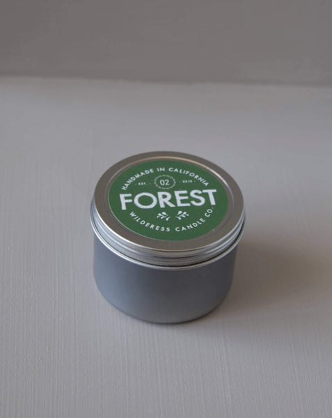 Wilderess - Forest Travel Tin Soy Candle - SISTER LB
