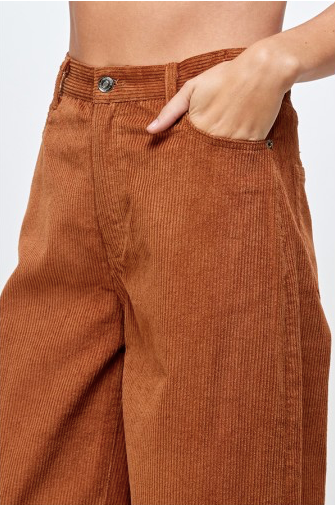 Brown Becky Corduroy Pant