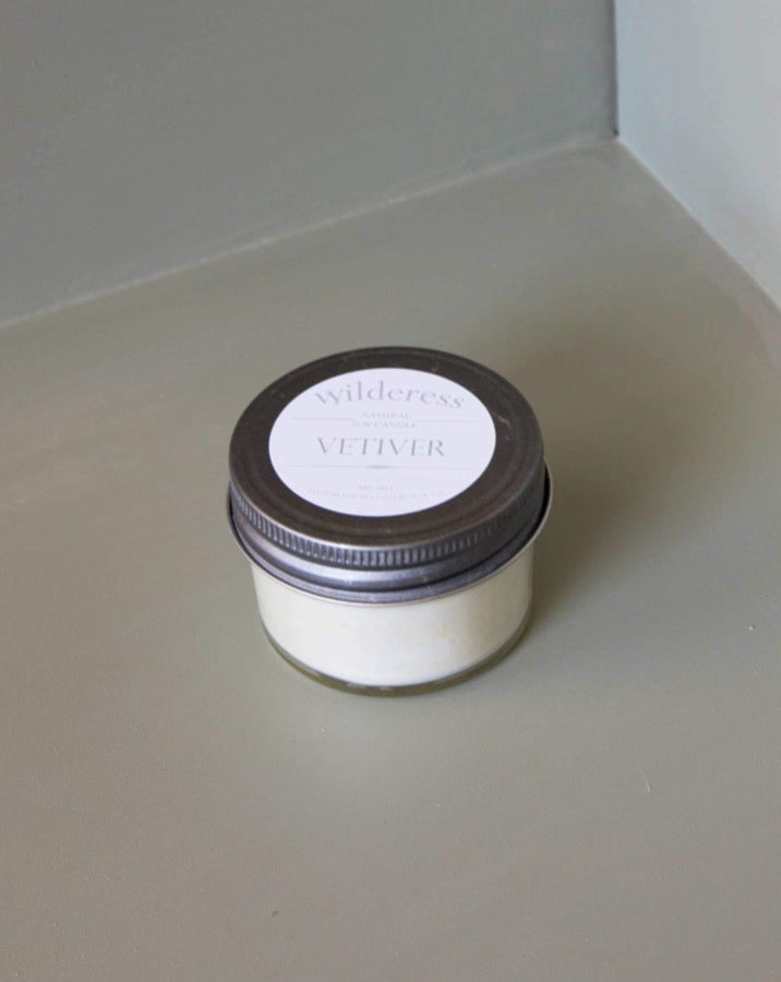 Wilderess - Vetiver 20 Hour Soy Candle - SISTER LB