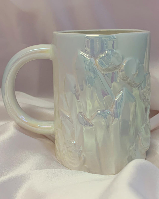 Crystal & Flowers Coffee Mug