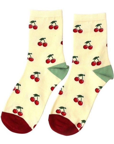 Cherry Orchard Socks