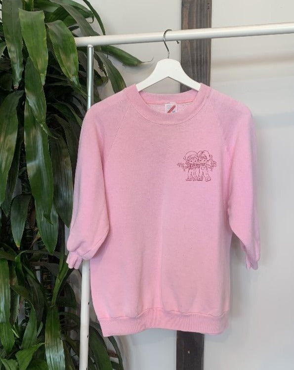 Vintage Cherub Friend Sweatshirt