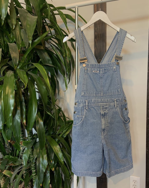 Vintage Crown Overall Shorts