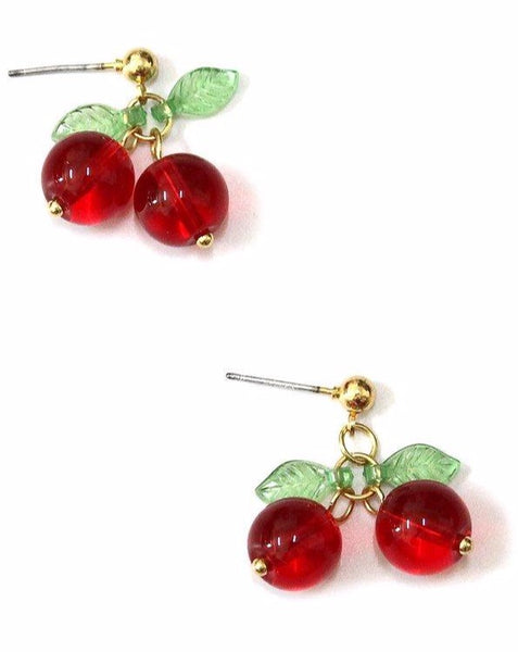 Cutie Pie Cherry Earrings