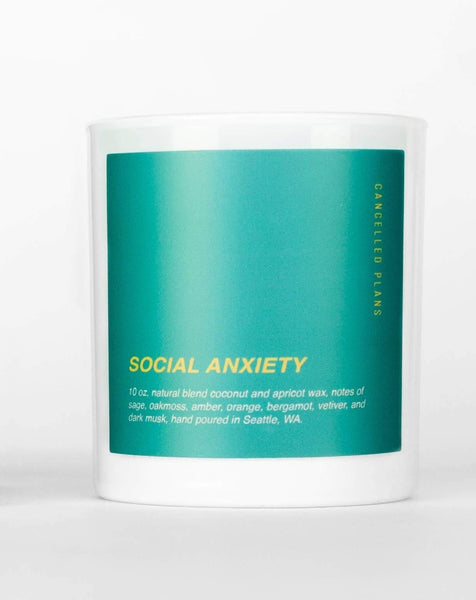 Cancelled Plans - Social Anxiety Candle