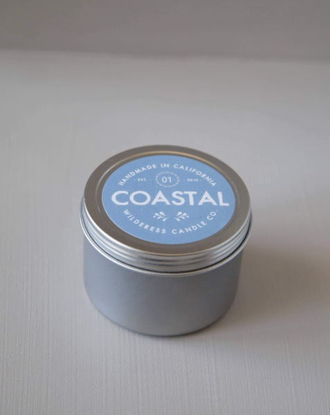 Wilderess - Coastal Travel Tin Soy Candle - SISTER LB