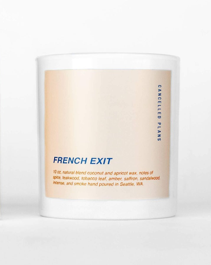 Cancelled Plans - French Exit Candle