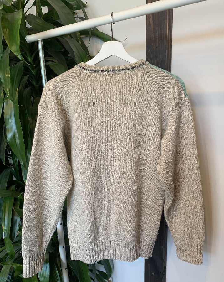 Vintage Farm Animal Cardigan