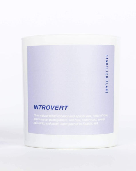 Cancelled Plans - Introvert Candle