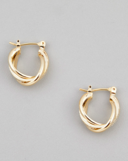 Mini Twist Hanna Hoops