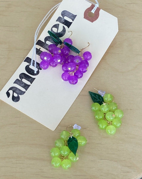 Grape Bunch Earrings