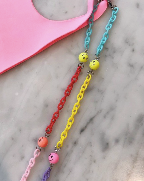 Happy Face Mask Chain