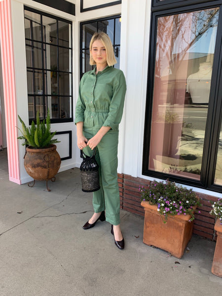 Green Boiler Jumpsuit